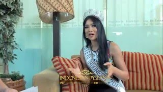 Exclusive Interview Anindya Kusuma Putri Top 15 Miss Universe 2015