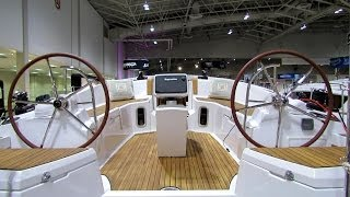 2014 Jeanneau Sun Odyssey 44DS Sailing Yacht Interior,Deck,Hull Walkaround - 2014 Toronto Boat Show