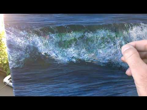 Seascape art work clips Vernon W Jones