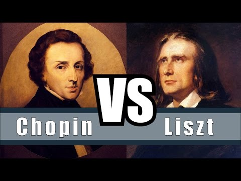 Chopin VS Liszt  The Differences and Similarities Between Chopin and Liszt
