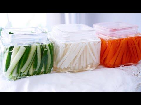 ผักดอง3สี สูตรผักดองเกาหลี อร่อยๆ by kanom aroi by comla