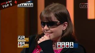 Top 5 Legendary Bad Beats | Poker Legends