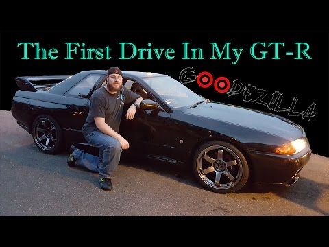 First Time Driving My R32 Skyline GTR (uncut)