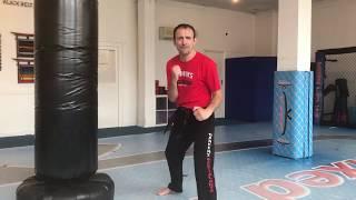 Gannon's Martial Arts - Spin kicks