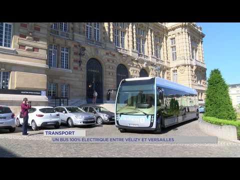 Transport : un bus 100% électrique entre Vélizy et Versailles