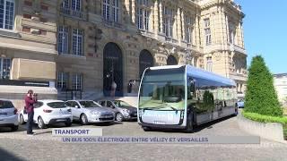 Transport : un bus 100% électrique entre Vélizy-Villacoublay et Versailles