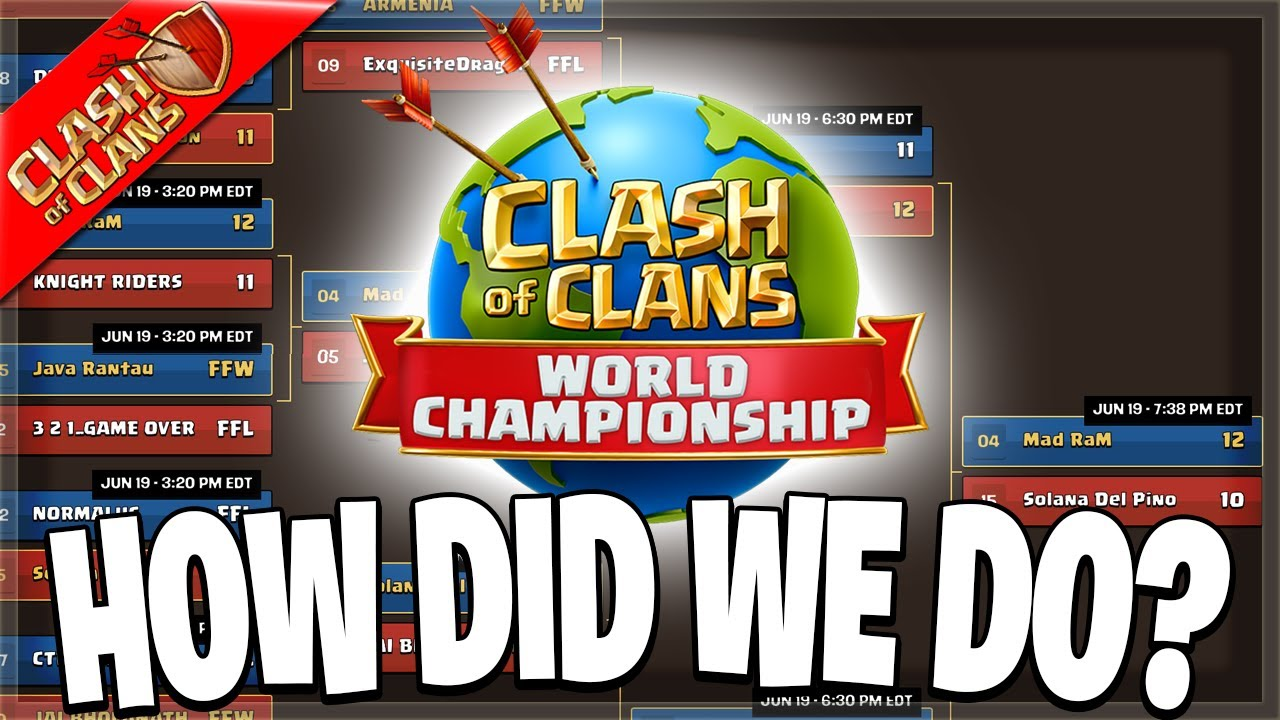 Mad RaM made it to Day 2 of the World Championship Pre Qualifier! (Clash of Clans)