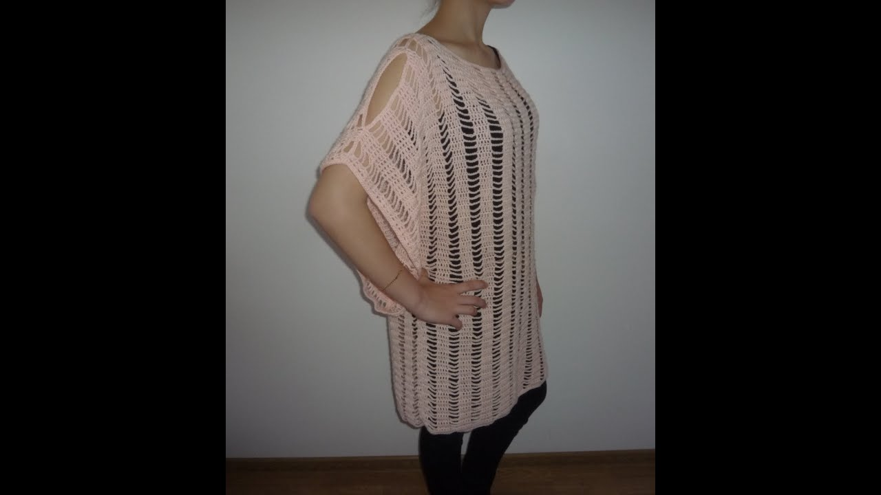 How to crochet tunic tutorial part 1 of 2 youtube how to crochet tunic tutorial part 1 of 2 bankloansurffo Gallery