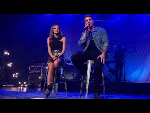Brett Young and Carly Pearce Whiskey Lulla