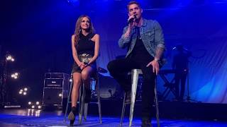 Brett Young and Carly Pearce- Whiskey Lullaby Video