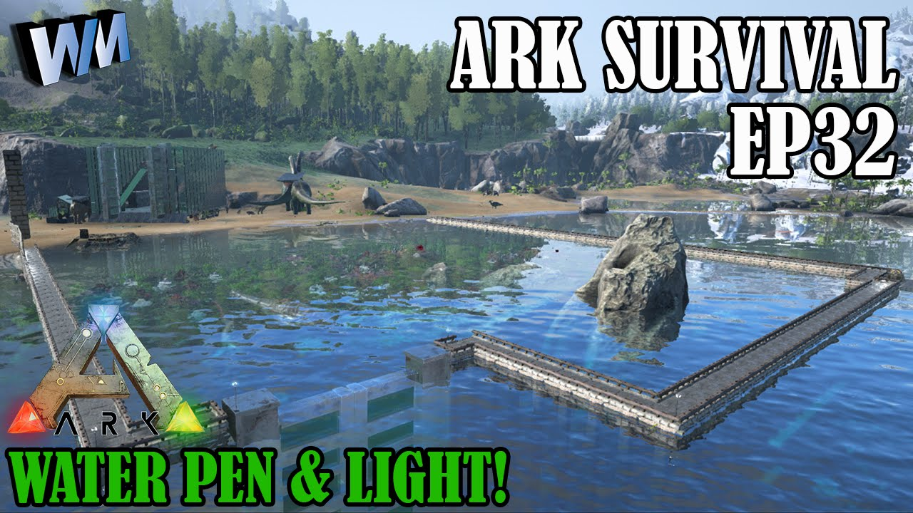 ark how to make water clear