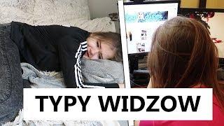 TYPY WIDZÓW NA YOUTUBE! /W LUURE