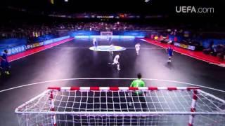 Лучшие голы ЕВРО-2014 по футзалу