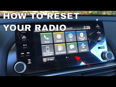 How To Reset The Radio In Your Honda