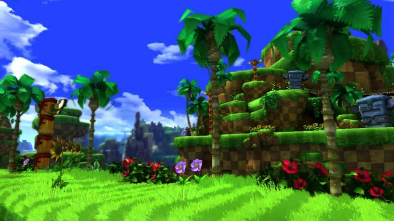 Sonic Generations Walkthrough Green Hill Zone Act 1