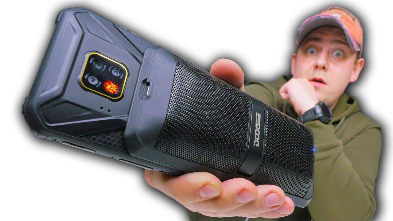 Смартфон Трансформер с Колонкой! Doogee S95 PRO