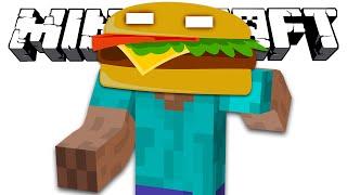 ХИРОБРИН БУРГЕР Minecraft Обзор Мода