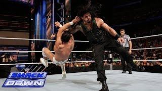 Roman Reigns vs. Alberto Del Rio: SmackDown, July 25, 2014