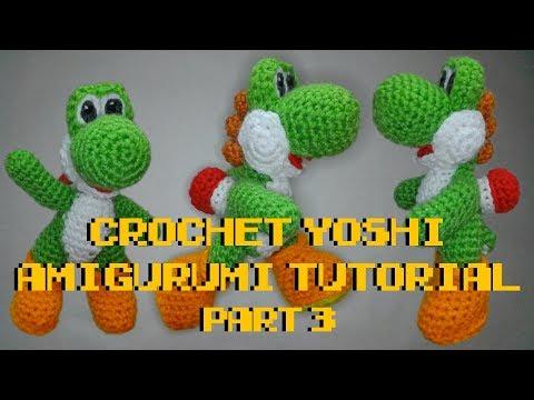 PATTERN: Yoshi amigurumi | Etsy | 360x480