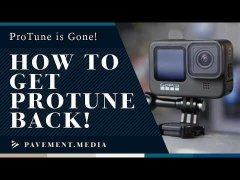 GoPro App Protune - How to Get it Back!