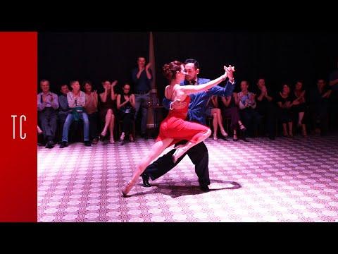 Tango: Laura D'Anna y Sebastián Acosta, 7/12/2017, Patio de Tango 1/4