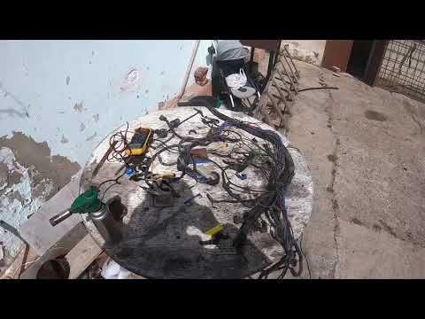 замена проводки и регулировка дросселя мерседес w 124 м104