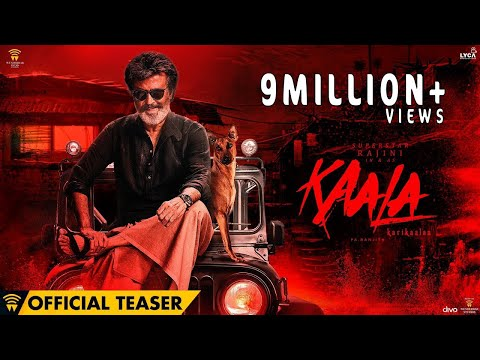 Kaala (Hindi) - Official Teaser | Rajinikanth | Pa Ranjith | Dhanush | Santhosh Narayanan