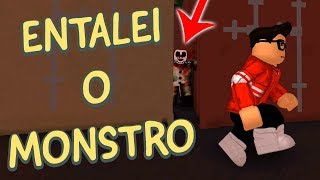 DEIXEI O MONSTRO PRESO - DIE CLOWN KILLINGS SMILE no ROBLOX