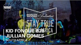 Kid Fonque B2B Jullian Gomes Boiler Room x Ballantine