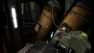 Quake 4 Play Through Interior Hangar Maxed Out on XFX HD 4770_Phenom II X4 925