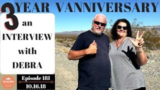 Happy Vanniversary, Debra! 3 Years on the Road FT With a Brain Injury Disability - S1.E181
