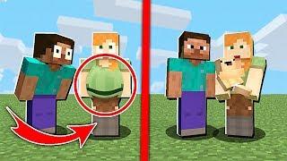 Ten Una Familia En Minecraft COMO EN LA VIDA REAL | MINECRAFT MOD