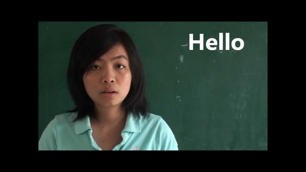 How To Say Hello In Vietnamese Youtube