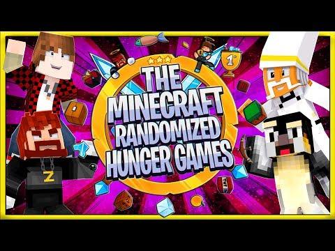 The Minecraft Randomized Hunger Games! #15   Atlantic Craft / JeromeASF / Bajan Canadian