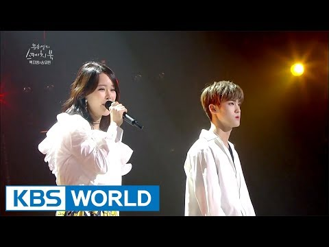 Baek Zyoung & Song Yuvin - Voice   백지영 & 송유빈 - 목소리 [Yu Huiyeol's Sketchbook / 2017.08.30]