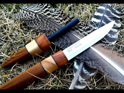 How to Make a Custom Knife Handle for a Mora No. 2