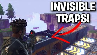 *NEW* Invisible Ceiling Trap SCAM! 😱 - Fortnite Save The World