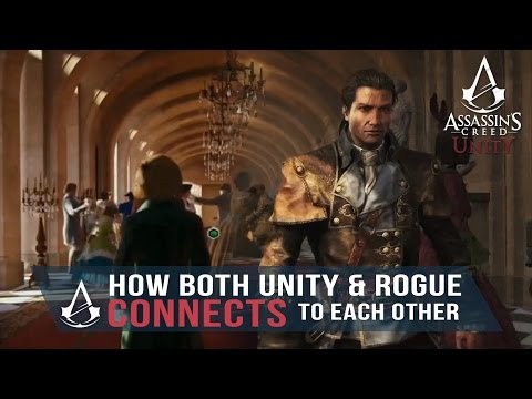 Assassin's Creed Rogue to Unity - How both games Connects/Transitioned/Ties (Arno and Shay)