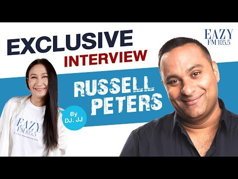 EAZY FM : Exclusive Interview with Russell Peters