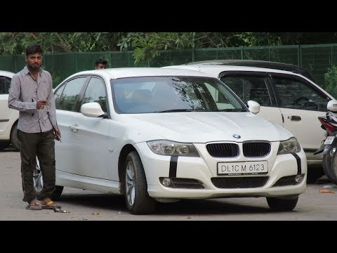 Beggar With Expensive BMW Prank   (Amazing Reactions)   Prank In India