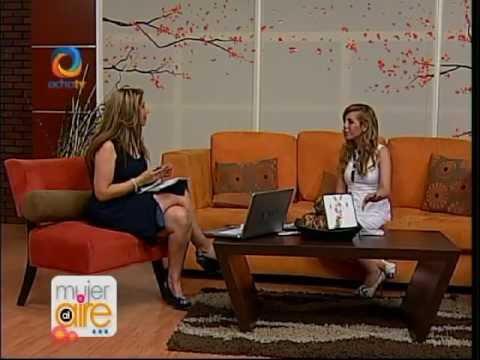 Paola Herrera en Mujer al aire