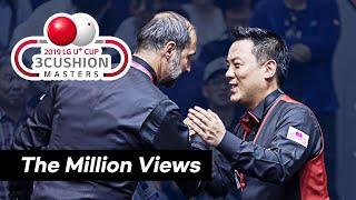[2019 LG U+ Cup 3C Masters] 준결승 세미 사이그너Semih SAYGINER vs 조재호 벌어진 입을 다물수 없게 만드는 레전드 경기!