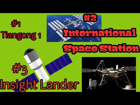 Space News Weekly || Tiangong 1 || Insight Lander || International Space Station