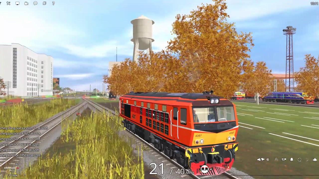Train Railroad 2019 : ขบวนรถเร็วที่ 171 กรุงเทพ-สุไหงโกลก