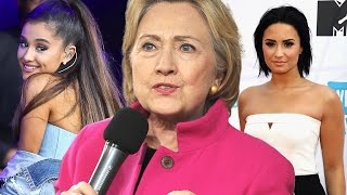 15 Celebs Who Support Hillary Clinton