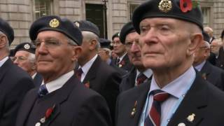 Remembrance Day at the Cenotaph 2010