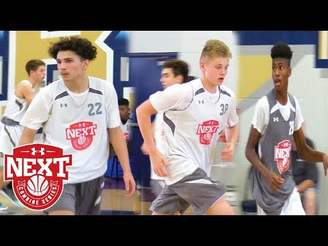Under Armour Next Los Angeles Top Performers!  - UA Next Jr NBA Combine LA