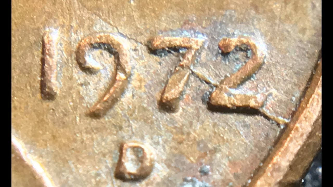 The Speared Lincoln Cent Error! 1972 Die Crack! & 1917 D Penny Found In A  Box!
