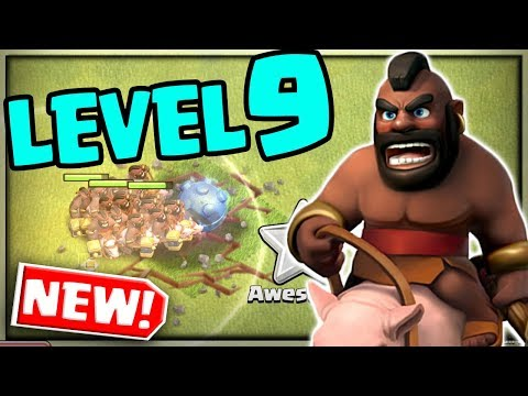 MASS Hog Riders Vs A Town Hall - TOO STRONG? Clash Of Clans Update