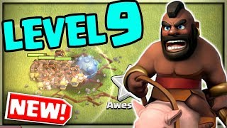 MASS Hog Riders vs a Town Hall TOO STRONG? Clash of Clans Update